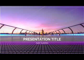 Template for presentations