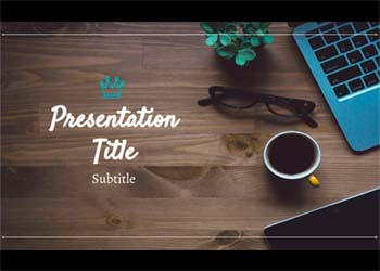 Presentation Template Galveston