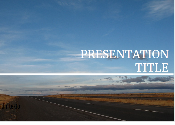 Roadtrip Free Presentation Template
