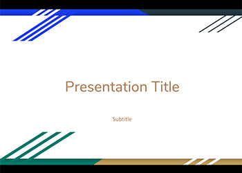 letter google presentation theme slides power