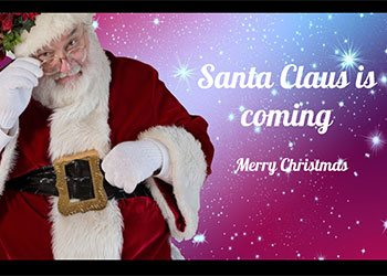 Santa Claus Google Slides Theme