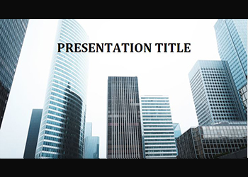 Presentation template Downtown