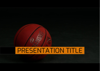 Presentation template Basketball