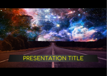 Presentation template Space