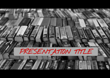 Presentation template World Book Day