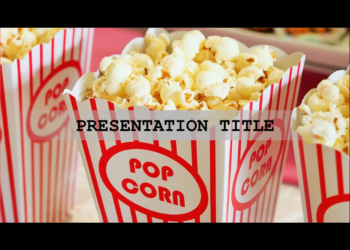 Cinema free presentation template