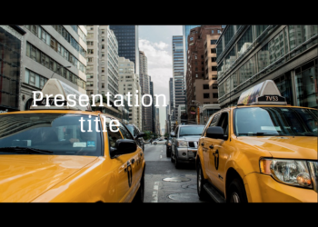 Presentation template New York