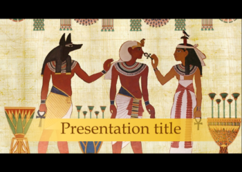Presentation template Ancient Egypt