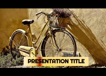 Presentation template Bicycles