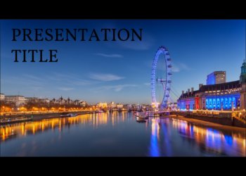 Free presentation template London