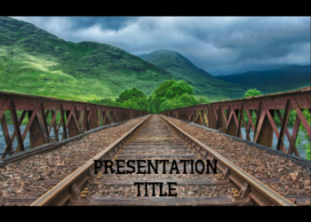 Presentation template Trains