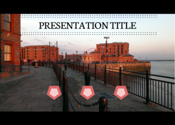 Presentation template Garden Docks