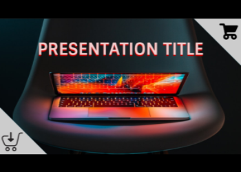 Presentation template Black Friday