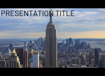 Presentation template Empire State