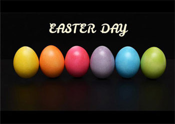 Free presentation template Easter Day